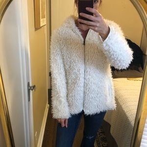 Fuzzy cozy Madden Girl coat